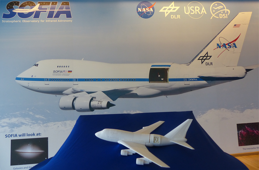 Print Your Own 3-D SOFIA Model | NASA