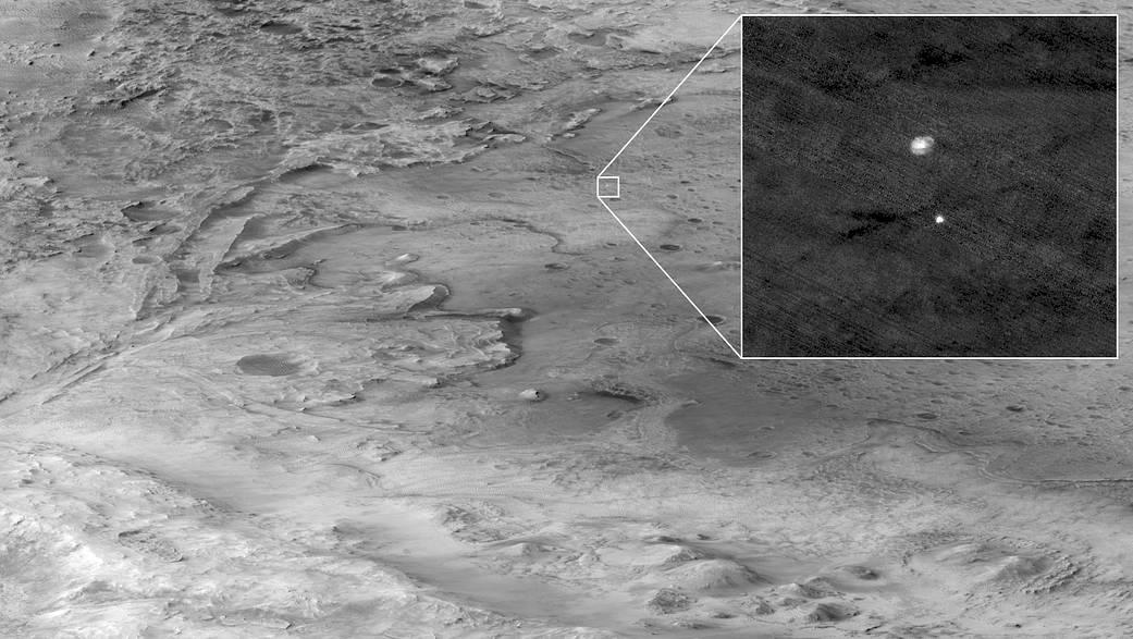 Las pruebas demuestran su valor con el despliegue exitoso del paracaídas en Marte