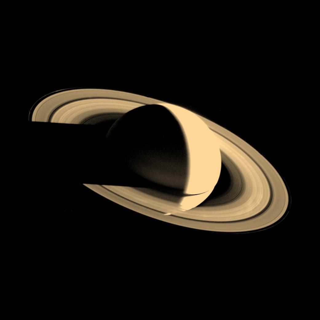 Voyager 1 Image Of Saturn Nasa