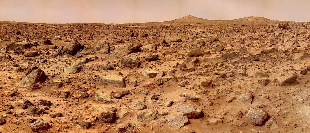 Mars's Twin Peaks