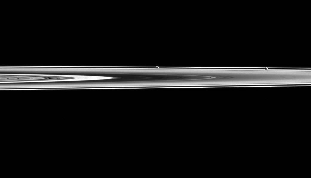 Cassini moons