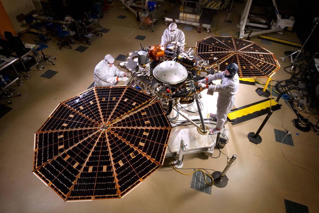 Η NASA δοκιμάζει ένα νέο όχημα προσεδάφισης για την επόμενη αποστολή στον Κόκκινο Πλανήτη
