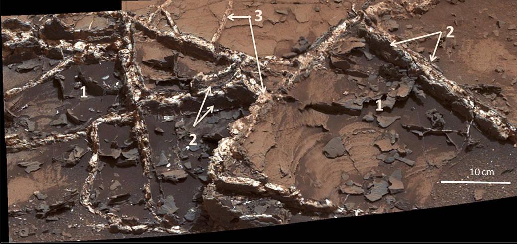 Garden City' Vein Complex on Lower Mount Sharp, Mars | NASA