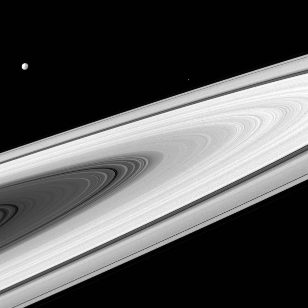 Not Really Starless at Saturn