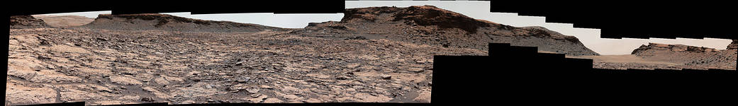 """Scene from the """"Murray Buttes"""" area on Mars"""