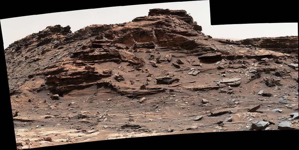 """Site is in the """"Murray Buttes"""" area of lower Mount Sharp"""