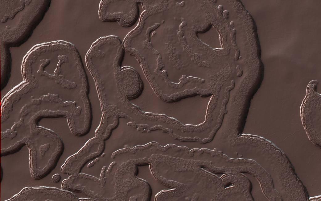 South Pole on Mars