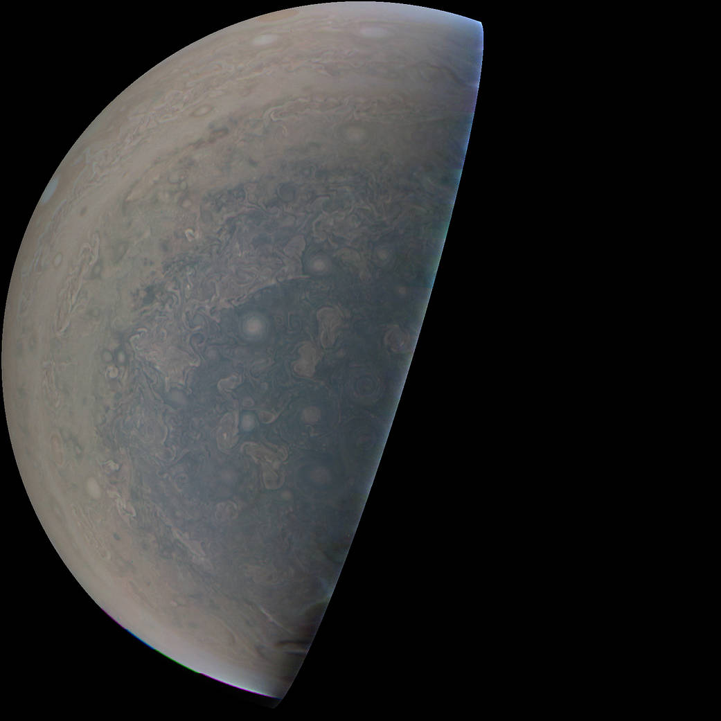 South pole of Jupiter