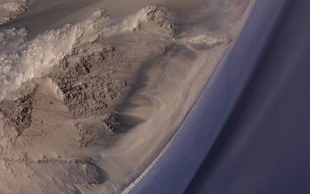Seasonal flows in Valles Marineris on Mars