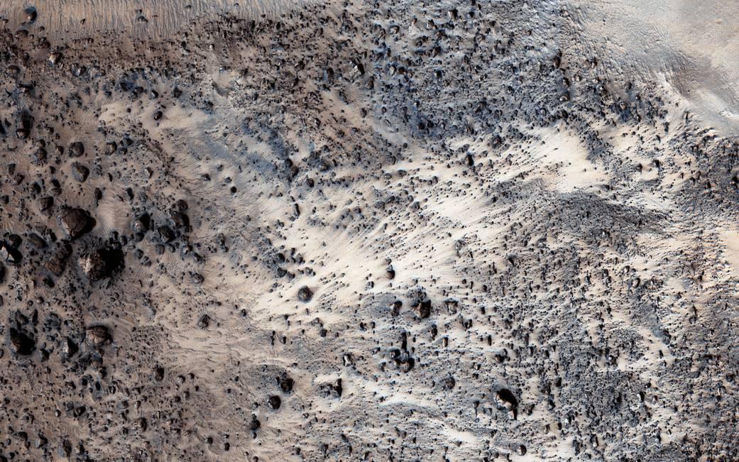 Simud Valles on Mars