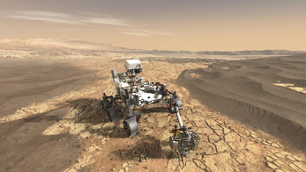 NASA's Mars 2020 Rover artist's concept