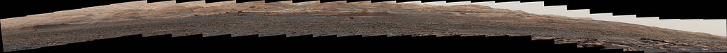 Wide 'Vera Rubin Ridge' Ahead of Curiosity Mars Rover