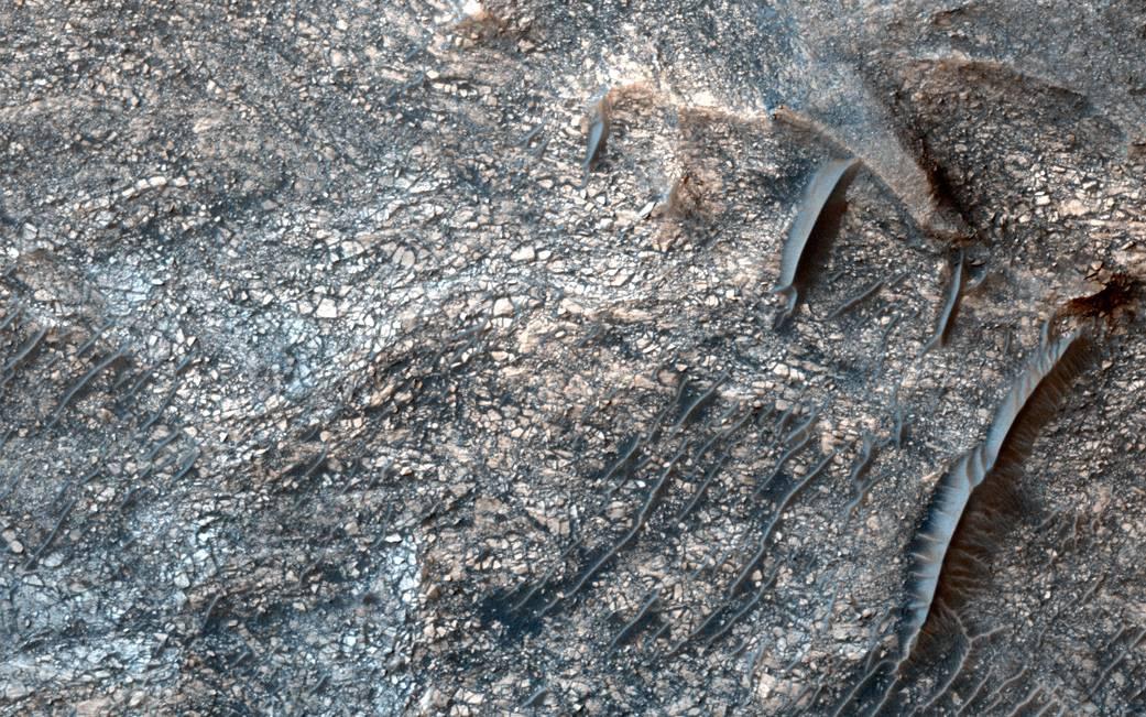 Sulfates on Mars