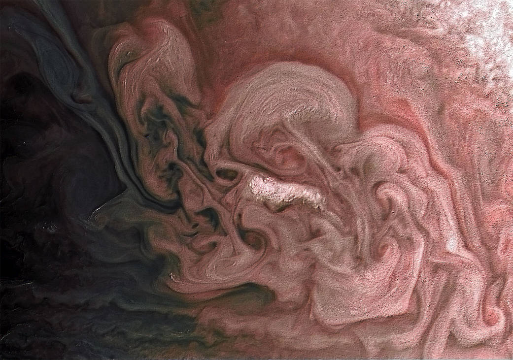 Rose-Colored Jupiter Pia21981