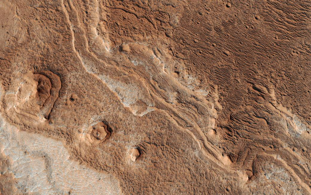 Eroded Layers in Shalbatana Valles  Pia22182
