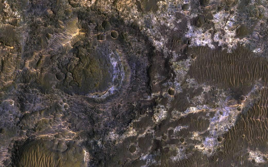 Ladon Basin on Mars