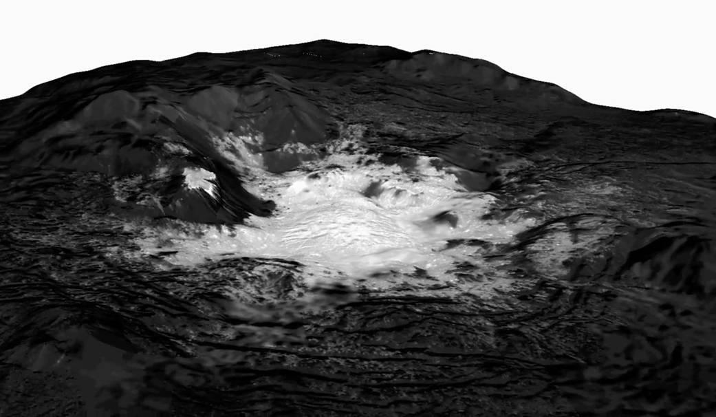 Bright Spots On Ceres Pia22480