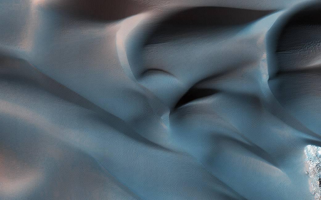 Mars dune fields