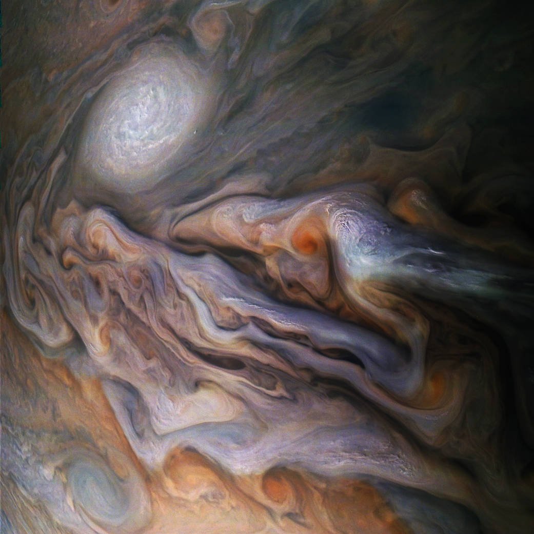 Jovian Close Encounter Pia22692