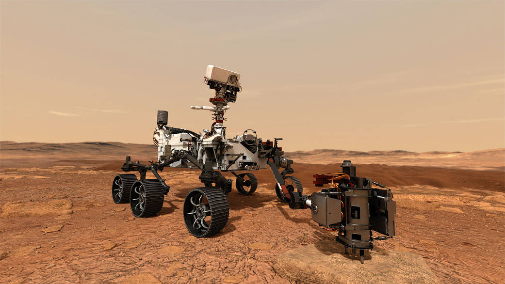 Lanzamiento del rover Perseverance