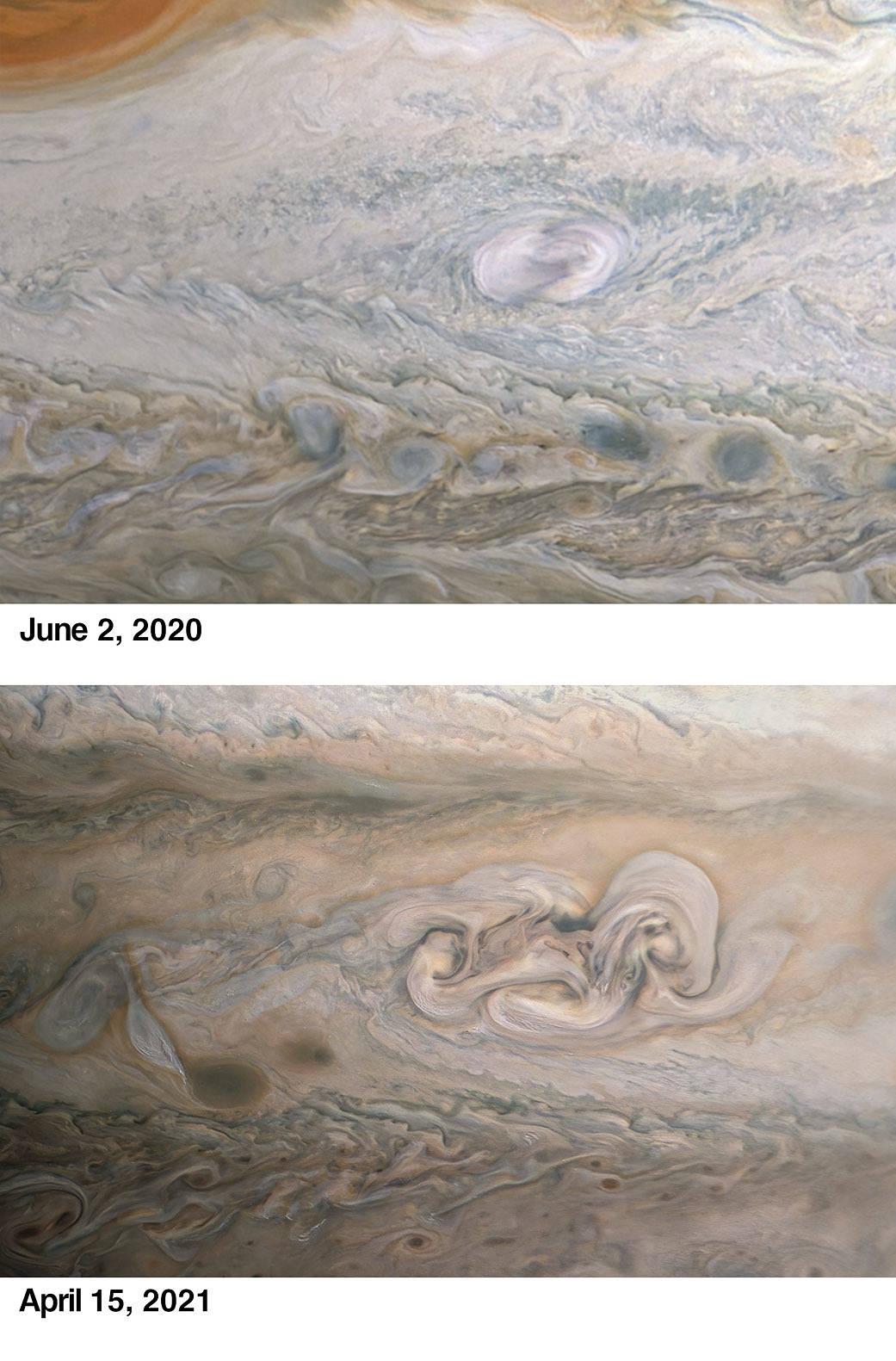 """Juno regresa a la """"mancha de Clyde"""" de Júpiter"""