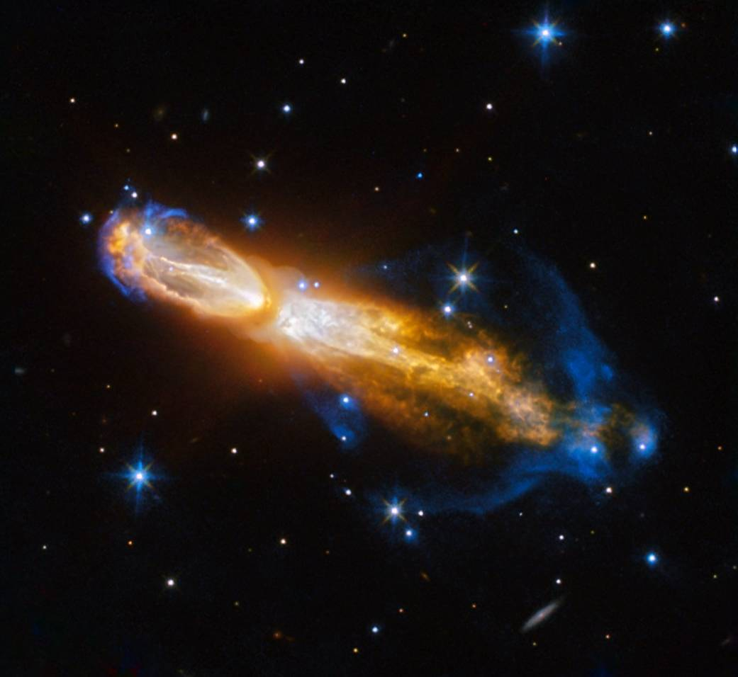 Ученые при помощи  телескопа «Хаббл» сфотографировали смерть звезды
