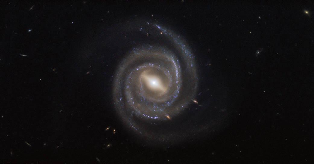 pretty spiral galaxy