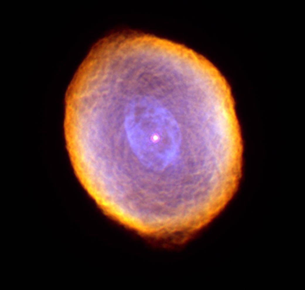 A planetary nebula.