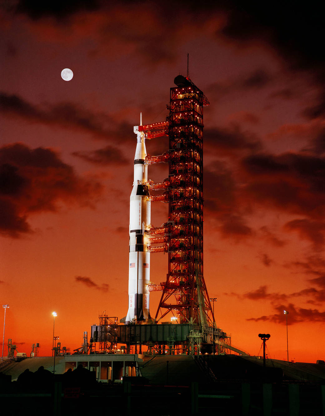 This week in 1967, Apollo 4 launched from NASA's Kennedy Space Center.