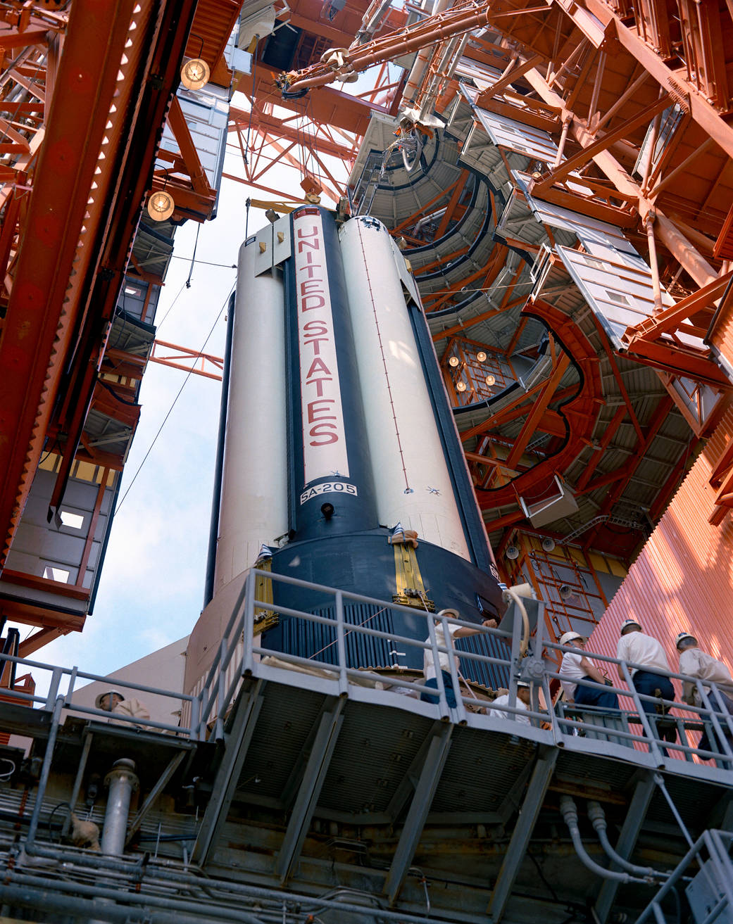 This week in 1968, Apollo 7 launched from NASA's Kennedy Space Center.