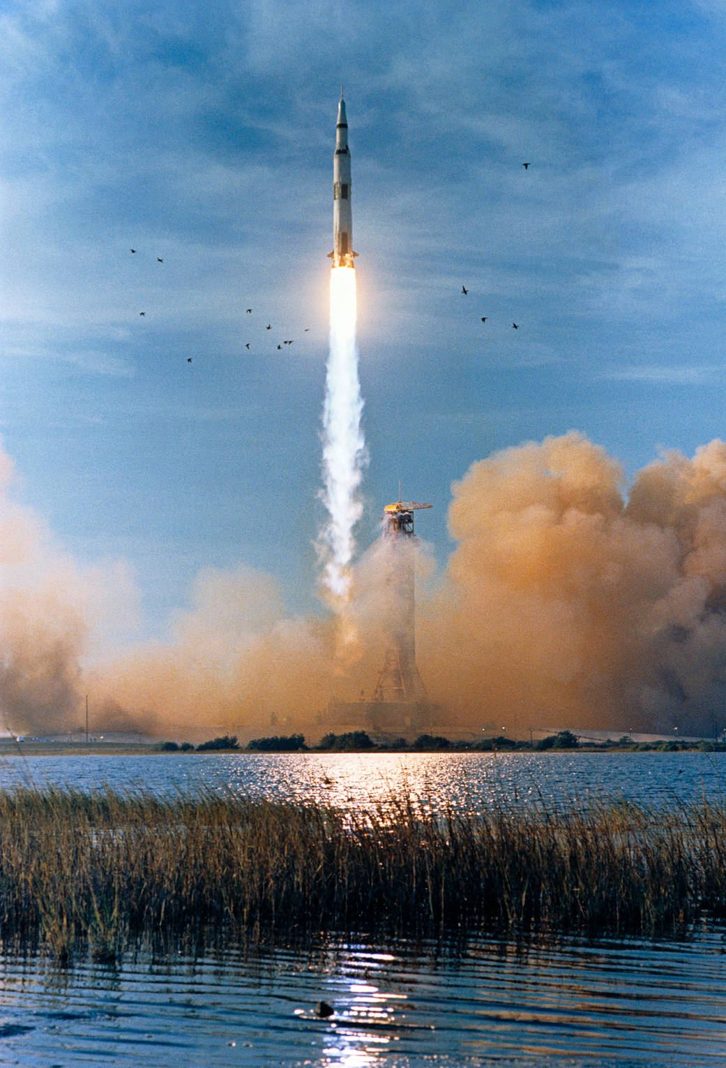 Apollo 8 launch, December 21, 1968