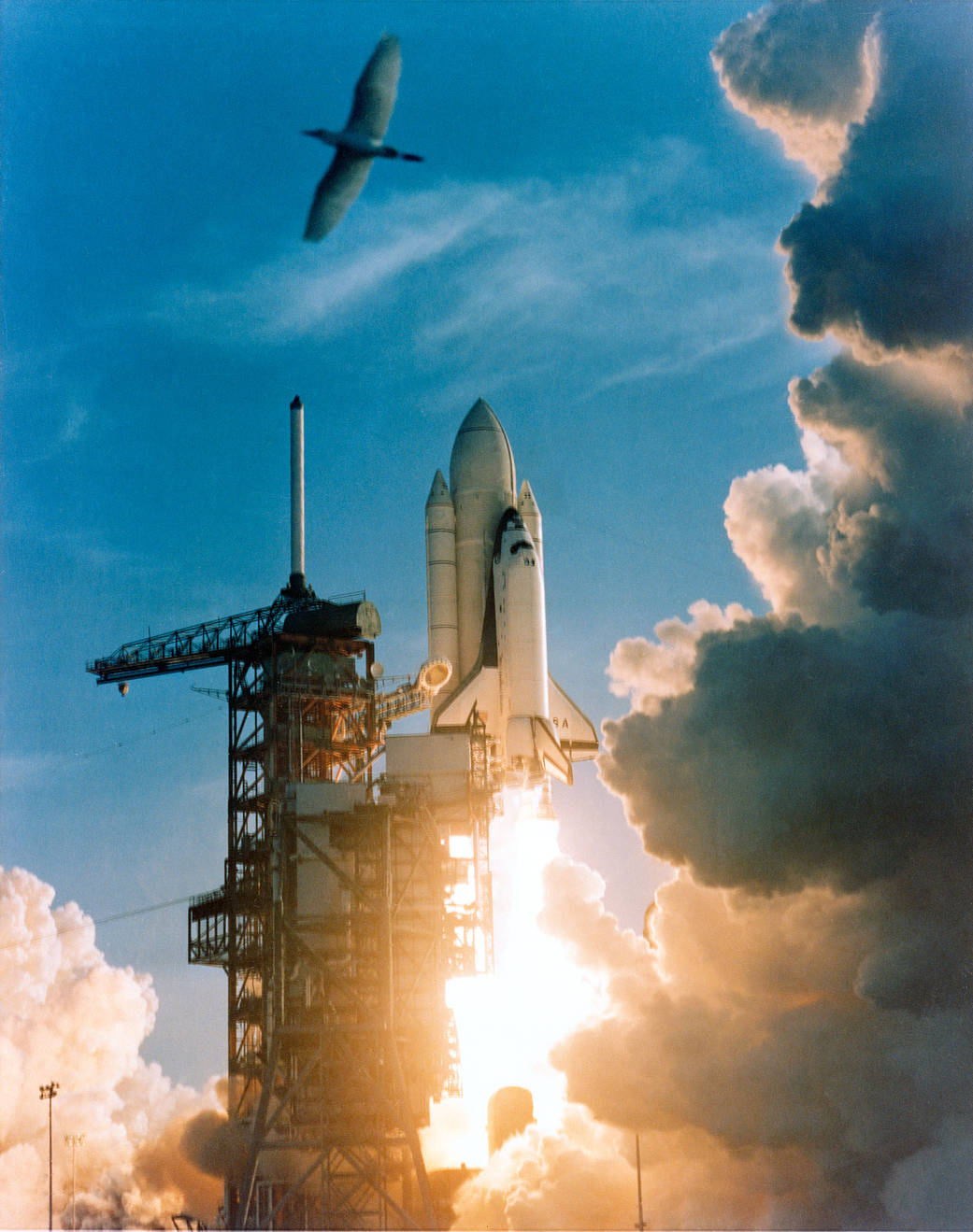 Launch of STS-1