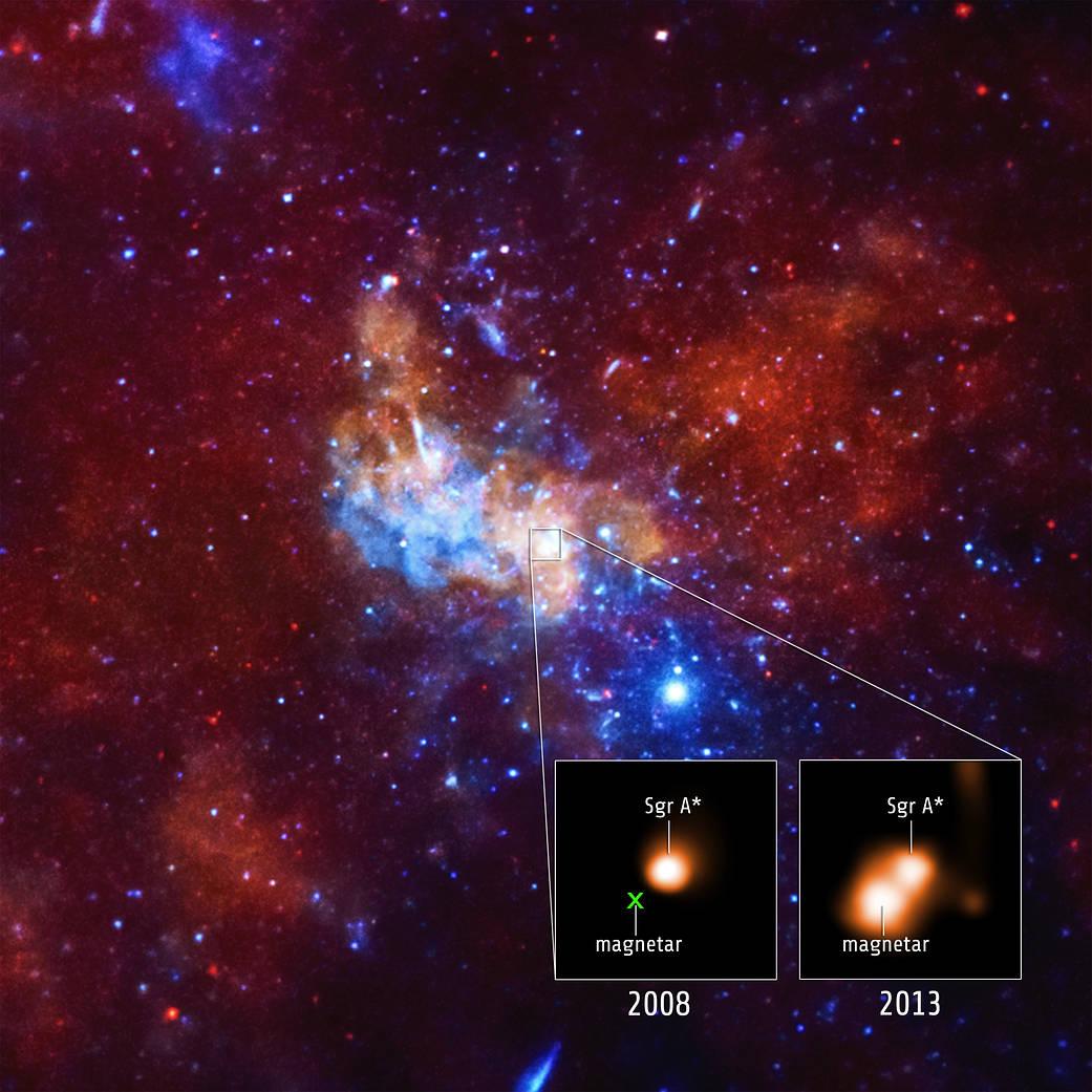 SGRA Magnetar
