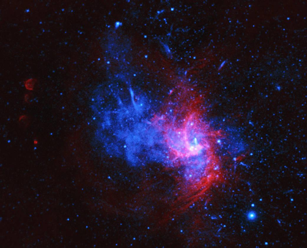 Se descubren restos de Rare Blast en el centro de la Vía Láctea