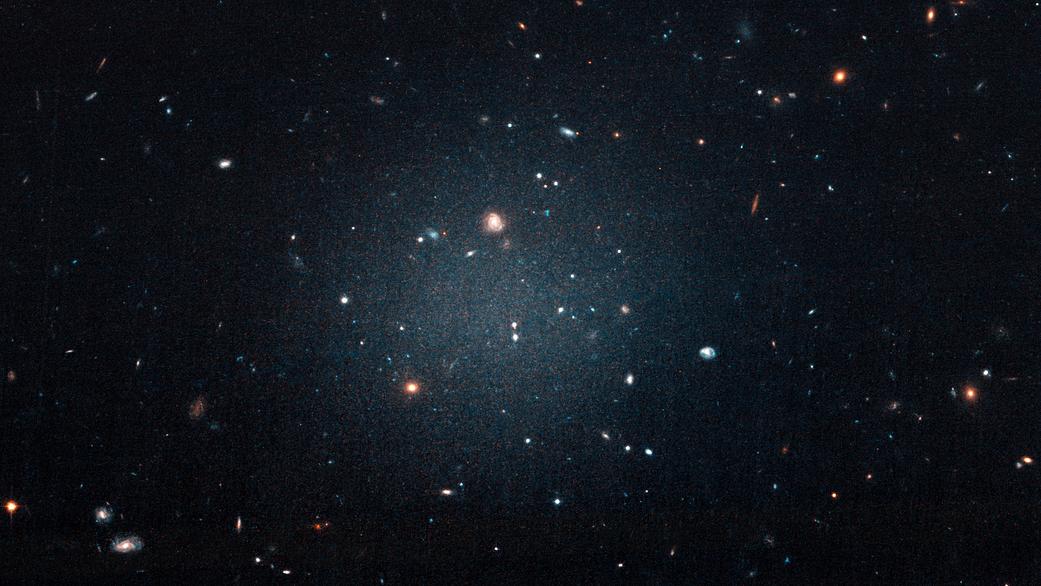 A Ghostly Galaxy's Lack of Dark Matter Stsci-h-p1816a-f-16x9