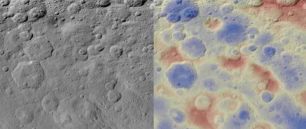 Ceres's Kwanzaa Tholus