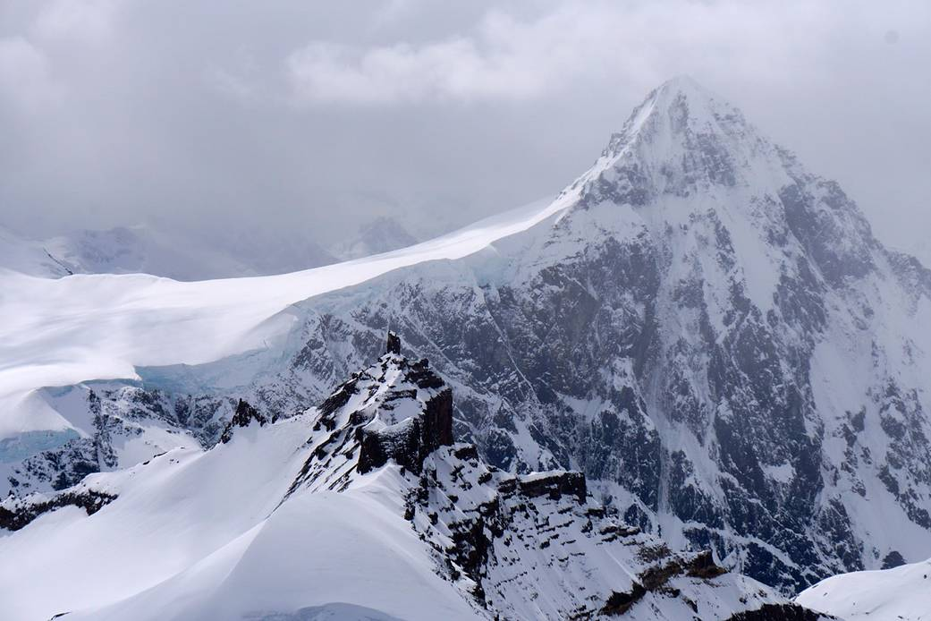 Wrangell Mountains of eastern Alaska