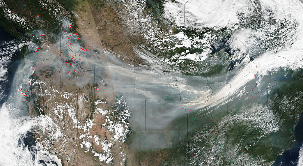 Wildfire Smoke is Becoming a Public Health Threat