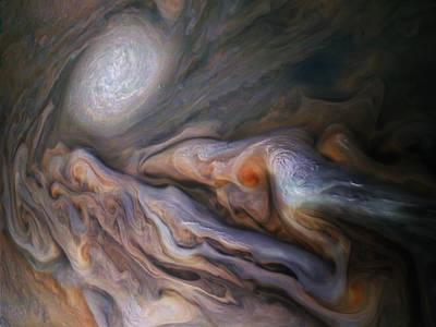 Visions of Jupiter 16x20\u201d