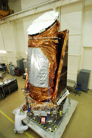 Kepler spacecraft fully assembled