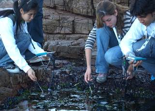 Students participate in Earth science activities through GLOBE program