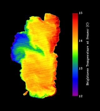 Lake temperature variations