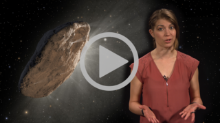 video showing how observatories, including NASA's Hubble Space Telescope, found that 'Oumuamua gained an extra boost of speed