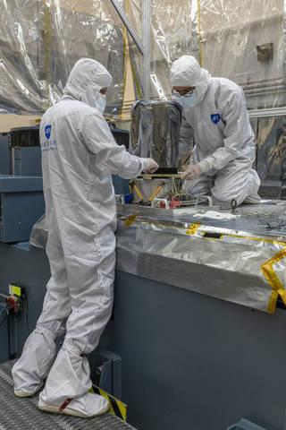 Primer instrumento científico instalado en la nave espacial Lucy de la NASA.