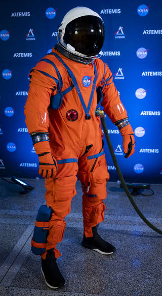 Orion Suit Equipped to Expect the Unexpected on Artemis Missions