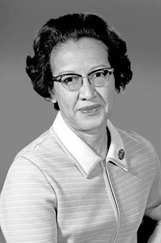 Portrait of Katherine Johnson