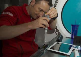 NASA Extreme Environment Mission Operations (NEEMO) crew member, Matthias Maurer of ESA