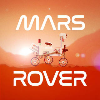 A shareable image about a social media game called Mars Rover
