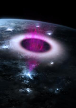 multi-wavelength emission in upper atmosphere