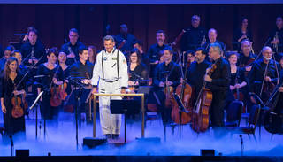 """National Symphony Orchestra performs """"Space, the Next Frontier"""""""